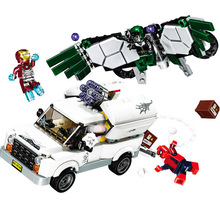 2019 10746 Spider Man Super Heroes Homecoming Building Blocks DIY Bricks toys gift Compatible With 76083 B824