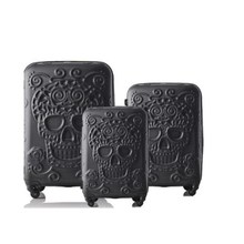 """TRAVEL TALE 20""""24""""28"""" inch 3pieces luggage set expander hard travel bag koffers trolley case suitcase set"""