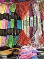 Oneroom 10 шт. настраиваемая нить-шелковая Вышивальная нить/Спиральная вышивка/шелковая линия/ручная вышивка ниток-