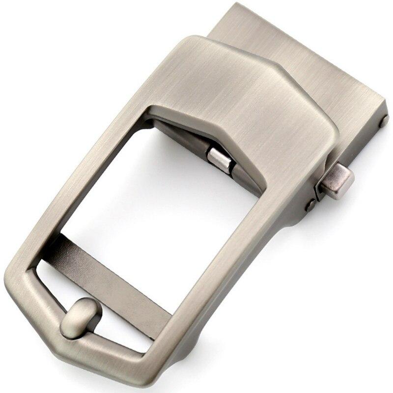 Genuine Men's Belt Head, Belt Buckle, Leisure Belt Head Business Accessories Automatic Buckle Width 3.5CM Luxury LY155-561745