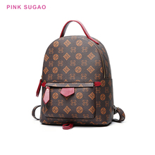 Pink Sugao backpack fashion backpack women small backpack purse book bag travel backpack cute girls bags high quality famous new