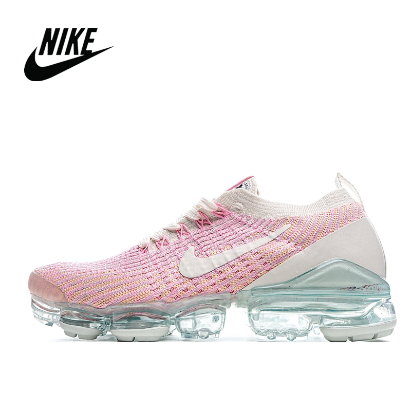 Original Nike Air VaporMax Flyknit 3.0 Women's atmospheric cushion sports running shoes size 36-40 AJ6910-008