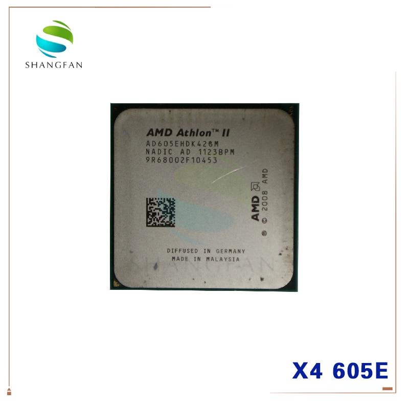 AMD Athlon II X4 605E 2.3 GHz Quad-core CPU Processor AD605EHDK42GI AD605EHDK42GM Socket AM3