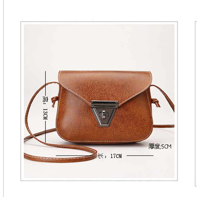 Nueva moda hebilla de metal decoración bandolera bolso de hombro para mujeres lindo solo hombro mujer bolsos de mensajero