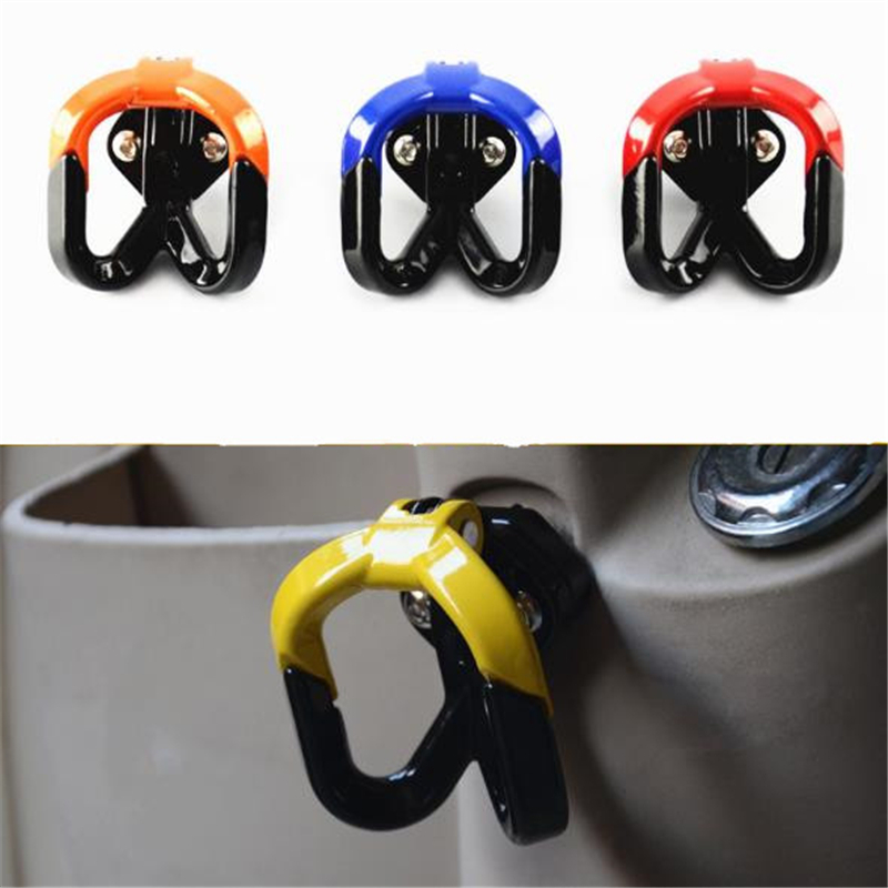 Universal Motorcycle Hook Luggage Bag Hanger Helmet Claw Double Bottle Carry Holders For Atv Dirtbike Scooter Moto Accessories High Quality And Inexpensive