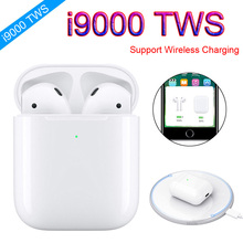 i9000 TWS Wireless Earphone Charging Sports True Earbuds Bluetooth 5.0 Earphones pk h1 Chip I10 i1000 i2000 i5000 tws
