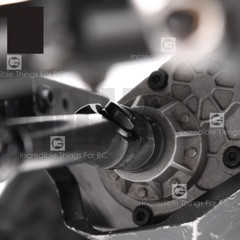 Image 3 - 1 pcs 75 100MM 96 143MM Heavy Duty CVD 2nd generation heavy duty drive shaft climbing car All steel metal cross universal jointParts & Accessories   -