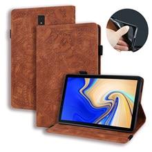 Рельефный чехол для Samsung Galaxy Tab S4 2018 дюйма, Женский кожаный чехол 10,5 дюйма с подставкой для Samsung Galaxy Tab S4, чехол