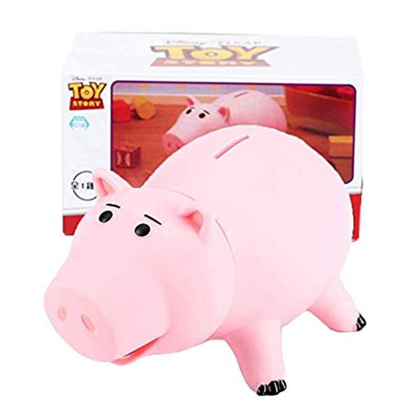Toy Story Hamm Piggy Bank Pink Pig Coin Box 20cm Action Figure Toys PVC Money Box Birthday Children Gift Limited Collection