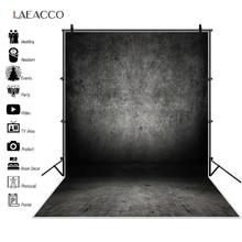 Laeacco خلفية للتصوير الفوتوغرافي للأطفال والرضع ، خلفية للتصوير الفوتوغرافي ، أرضية خشبية صلبة متدرجة ، نمط الجرونج ، لون غامق ، للتصوير الفوتوغرافي واستوديو الصور