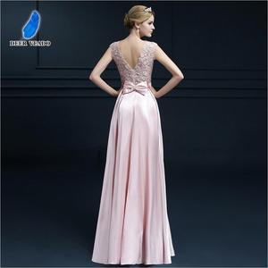 Image 5 - DEERVEADO S306 Sexy See Through Plus Size Prom Dresses A Line Floor length Long Formal Dress Evening Gown Robe De Soiree