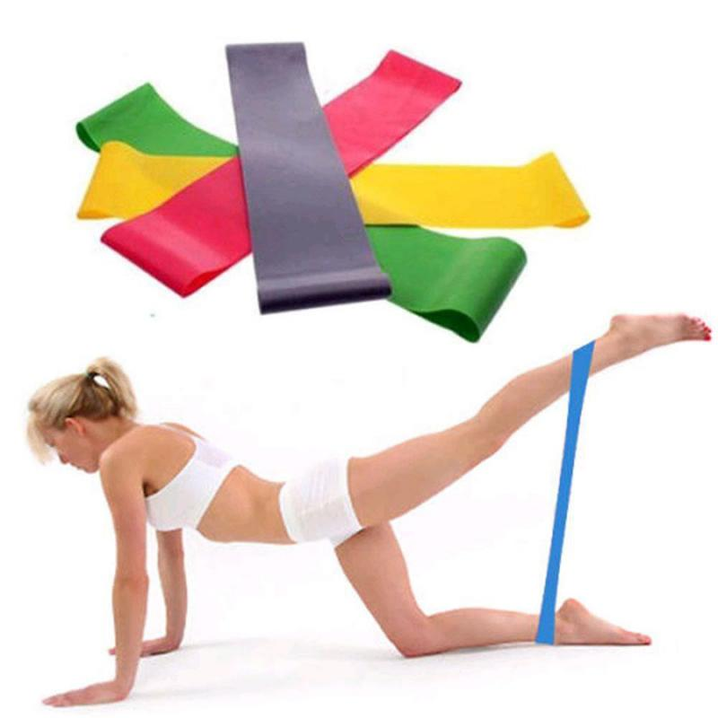 Resistance Bands Available Latex Exercises Elastic Fitness Training Yoga Loop Band With Strength Multi Color Multi Size Band