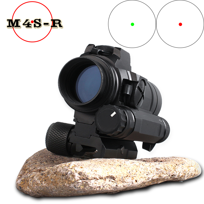 Оптический прицел M4 red dot sight para калиматорный 20 milímetros ferroviário rifle airsoft airsoft vista ao ar livre airsoft red dot Riflescope
