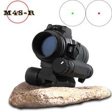 оптический прицел M4 red dot sight for 20mm rail rifle airsoft outdoors  калиматорный Riflescope
