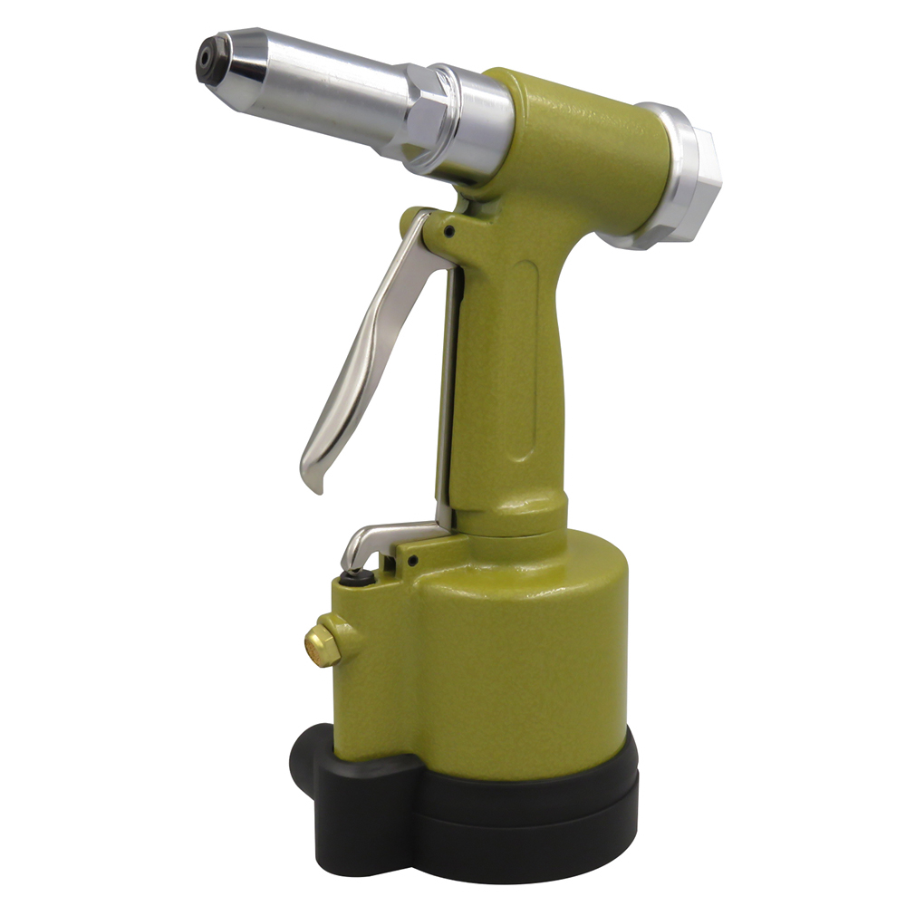 Pneumatic Hydraulic Air Riveter Labor Saving Rivet Riveting Gun Nut Nail Insert Hand Tool With Wrench Set
