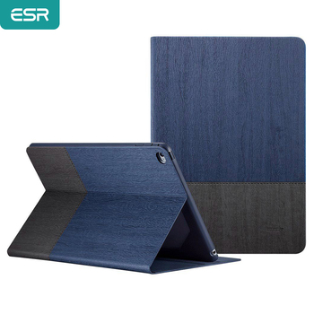 Case for iPad Air 2, ESR PU Leather Smart Cover Folio Case Stand with Auto Sleep/ Wake Function ecology Cover for Air 2 qijun case for ipad air 3 2019 10 5 pu leather pc back cover stand auto sleep smart magnetic folio cover for ipad air3 funda