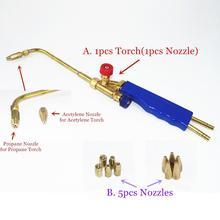 Gas Solderen Torch H01 2 Zuurstof Propaan Acetyleen Vloeibaar Gas Voor Staal Koper Aluminium Zilver Braze Solderen Lastoorts