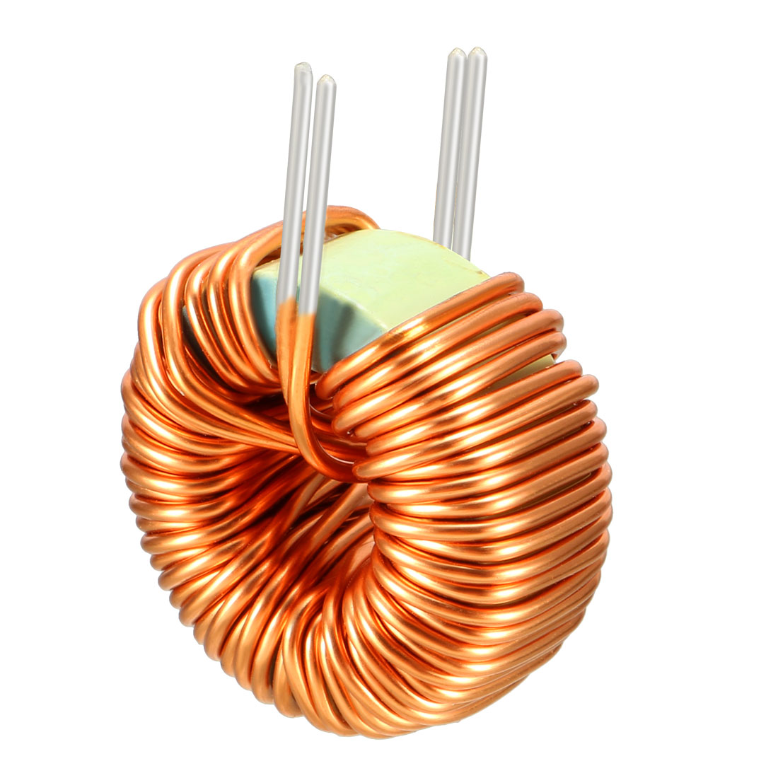 Uxcell Toroid Magnetic Inductor Monolayer Wire Wind Wound 10mH 3A Inductance Coil, High Current Capability