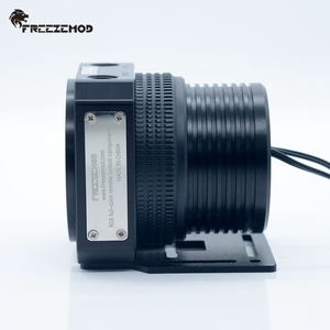 Image 4 - FREEZEMOD domestic D5 pc water cooler pump metal armor set magnetic suspension PWM RGB AURA water cooling. PU GPD5