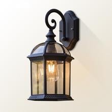Vintage Wall Lamp E27 Bulb Sconce Light Fixtures Black Bronze LED Wall Lights Outdoor Porch House Home Yard Garden Lighting