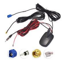 Superbat DAB/DAB+/GPS/FM/AM Car Digital Radio Amplified Aerial Roof Mount Antenna for Auto DAB