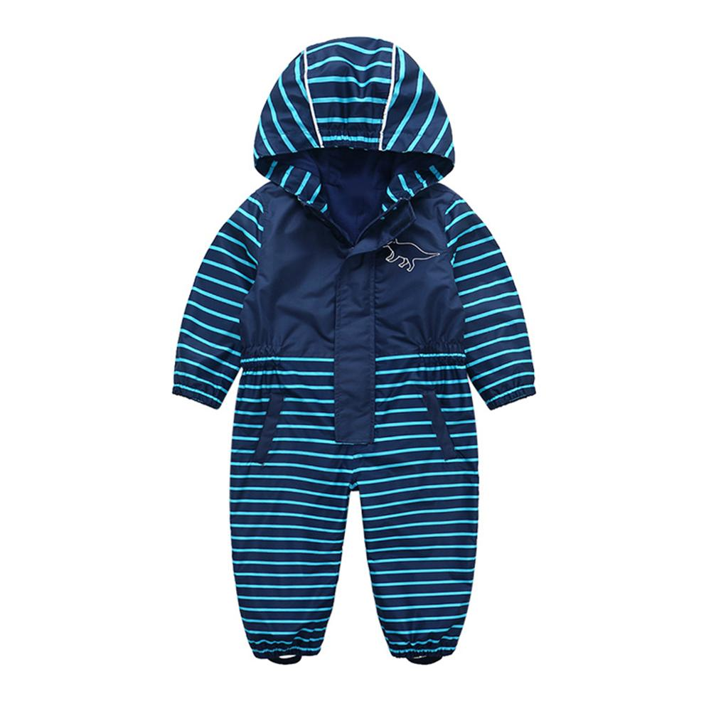 HONEYKING Kids Coverall Windproof Coat Boys Softshell Jumpsuit Girls Waterproof Overalls Jacket Jumpsuits For Child Clothes