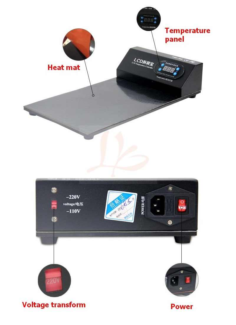 Màn Hình LCD Mở Máy Riêng Biệt LY-668 Mới Nhất Công Cụ Sửa Chữa Chia Cho Samsung Và Gần Như Tất Cả Các Moble Thương Hiệu Điện Thoại