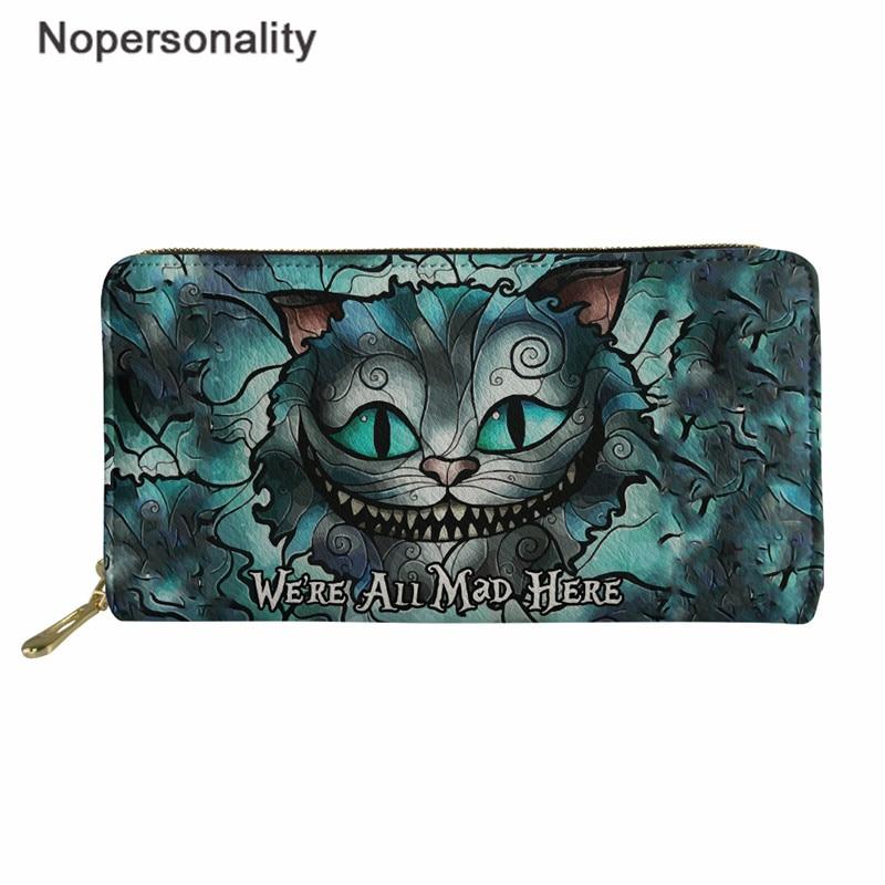Women Girls Cute Cartoon Cats Short Standard Wallets Purse Female Small Pouch FI