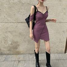 Женское облегающее мини платье без бретелек с v образным вырезом