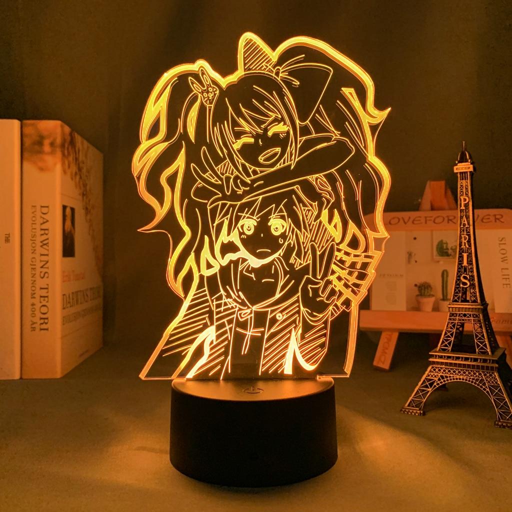 H2a60b587879e4befb1602881481a40ddB Luminária Danganronpa led night light junko enoshima lâmpada para decoração hoom crianças presente da criança de acrílico mesa 3d lâmpada junko enoshima