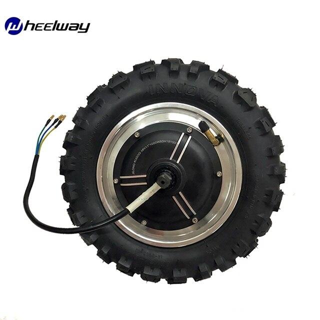 11 pouces 48V 1000W 1500W roue moteur kit LY moteur électrique sans engrenage moteur 60 km/h kit électrique gros hors route pneu rugueux