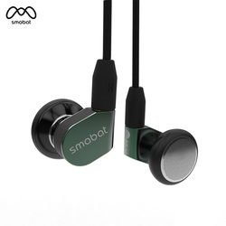 Smabat ST-10 Ear Hook Earbud HIFI Metal Earphoney 15.4mm Dynamic Driver Smabat Flagship Earbud With Detachable Detach MMCX Cable