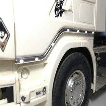 Декоративный светодиодный светильник на дверь, боковой светильник для Tamiya 1/14 Scania 56323 r620 r730 r470 RC Запчасти для тракторов и грузовиков, аксессуары