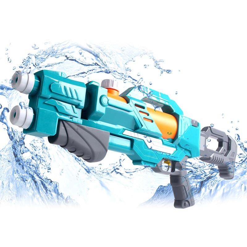 Summer Children's Squirts Sprinklers Water Gun Pumping Water Fireman Cannons Beach Armas De Fogo Real Outdoor Rafting EE5SQ