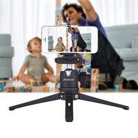 Andoer Table Desktop Mini Tripod w/Ball Head Quick Release Plate for Canon Nikon Sony GoPro Hero Tripod Monopod for iPhone X 8