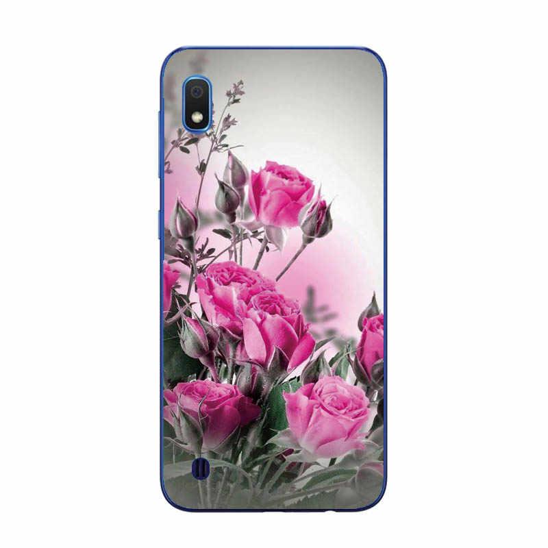 Case untuk Samsung A10 Case Soft Silicone Back Cover Phone Case untuk Samsung Galaxy A10 GalaxyA10 10 SM-A105F A105 a105F Kartun