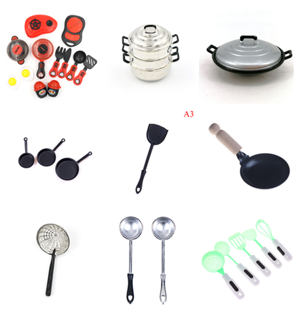 NEW Multi Styles Simulation Kitchen Set Cooking Sets Kitchen Utensils Cooking Tools Play House Kid Toy