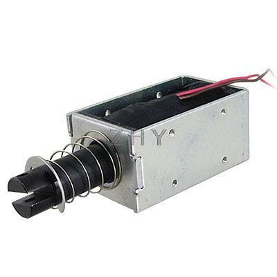 DC 12V 1.25A открытая рамка линейный Электромагнит
