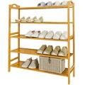 Стеллаж для обуви Простой бытовой Компактный экономичный цельный деревянный многофункциональный бытовой Многоэтажный дверной маленький ...