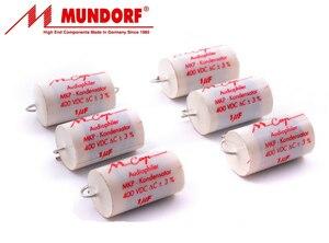 Image 4 - 2 Chiếc Đức Mundorf Mcap 2.2UF 400V Mkp M Cap 225/400V Âm Thanh Không cực Khớp Nối 2U2 Mới Audiophiler Tụ Điện