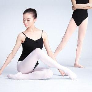 Image 1 - Meia calça collants de veludo feminina, meia legging para ginástica e dança 80d 90d 800d