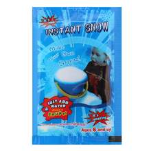 1 pçs artificial flocos de neve decorações para o casamento de natal floco de neve super absorvente decoração falsa mágica branca decoração de neve