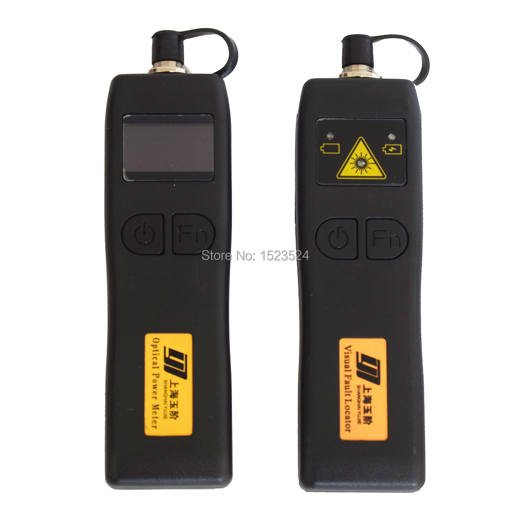 CATV YJ320C -50~+26dBm Mini Handheld Optical Power Meter+YJ200P Fiber Optic Visual Fault Locator 10mw