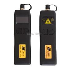 CATV YJ320C 50 ~ + 26dBm Mini medidor de potencia óptico de mano + YJ200P localizador de fallas visuales de fibra óptica 10mw
