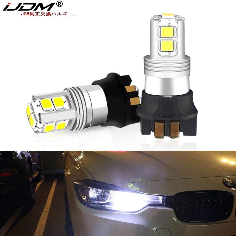 IJDM Canbus PWY24W PW24W 3014 Светодиодный фонарь для Audi A3 A4 A5 Q3 VW MK7 Golf CC Ford Fusion передний указатель поворота, F30 3 серии DRL