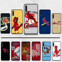 St Louis Cardinals Baseball bird Coque Shell Phone Case For Samsung Galaxy A 3 6 7 8 10 20 30 40 50 70 71 10S 20S 30S 50S PLUS(China)