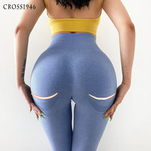 Gym Clothing Yoga-Pants Leggings Push-Up-Tights Seamless Anti-Cellulite Sexy Women Fitness
