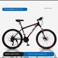 Горный велосипед  взрослый  с переменной скоростью  студенческий  Молодежный  амортизирующий  внедорожный  24-дюймовый велосипед