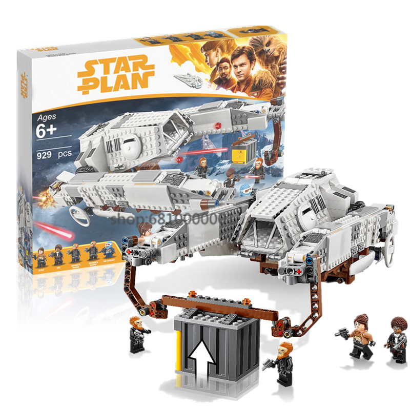 New Star Wars Compatible Star Plan Wars Fighter Series Imperial AT-Hauler Building Blocks Brick  Christmas Boy Toys Gifts