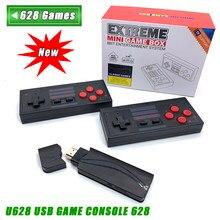 Nouvelle Console de jeu vidéo 4K HDMI intégrée en 568/ 600 jeux classiques Mini Console rétro contrôleur sans fil sortie HDMI double joueurs